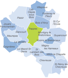 Carte zone d'intervention Yvelines